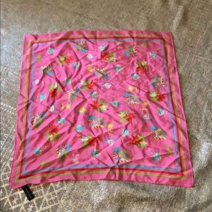 Adrienne Vittadini Silk Scarf 20 x 20